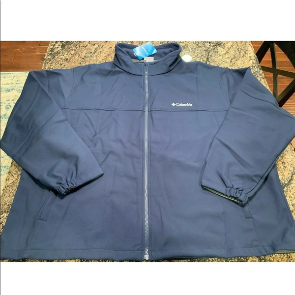 Columbia Mt Village Wind Resistant Jacket mens 4X